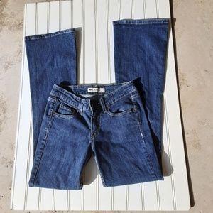 Levi's 518 Super Low Jean's Size 26